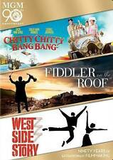 Chitty Chitty Bang Bang/Fiddler on the Roof/West Side Story DVD, 2014 3-Disc Set