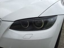 07-10 BMW E92 E93 3 SERIES COUPE 328i 335i M3 HEADLIGHT EYELID OVERLAYS