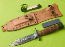 US 1984 Ontario Jet Pilot Survival Commemorative Engraved Fighting Knife #349