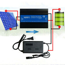 24V-72V MPPT Boost Solar Battery Charge Controller Regulator Intelligent 4 LEDs