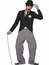 1920s Charlie Chaplin Style Star Outfit Mens 20s Fancy Dress Costume Large