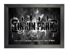 Linkin Park 10 American Rock Metal Band Poster Music Legend Photo Black White