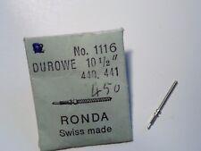 PIECE POUR MONTRE HORLOGERIE RONDA DUROWE TIGE REMONTOIR NEUVE FABRICA. SUISSE