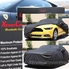 2016 2017 2018 2019 FORD MUSTANG BREATHABLE CAR COVER W/MIRROR POCKET -BLACK