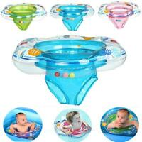 Baby Kids Inflatable Float Swimming Ring Trainer Safety Aid Pool Water Bath To