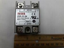 FOTEK Solid State Module 24~380VAC, Model SSr-25 DA.