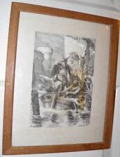 A. De Neuville ROLLO THE RANGER ATTACKS PARIS,1894 Original Print Not Reproduced