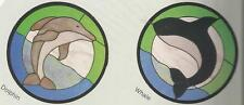 Dolphin And Whale Stained Glass Supplies New Pattern Cke Publications