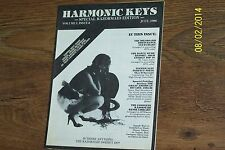 Harmonic Keys magazine (looks like / similar to Dance Music Report - DMR)