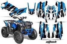 Polaris Scrambler 850/1000 AMR Racing Graphic Kit Sticker ATV Quad Decals ATTACK