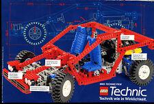 Lego-- Technic PKW 8865 -- Technik wie in Wirklichkeit --  Werbung von 1988-