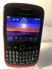BlackBerry Curve 9300 - Red (Unlocked) Smartphone Mobile