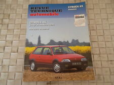 REVUE TECHNIQUE CITROEN AX ESSENCE 10 - 11 - 14