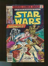 Star Wars  (1977)  No  12  US Marvel  1st print