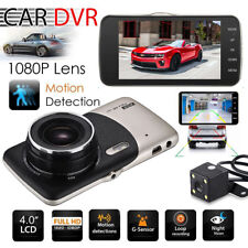 Dual Lens Camera HD Car DVR Dash Cam Video Recorder G-Sensor Night Vision US