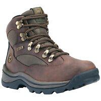 Women's Timberland Chocorua Trail Mid Waterproof Hiking Boots Brown Green 15631