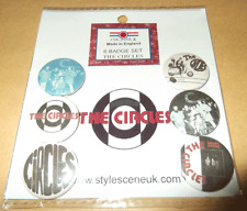 The Circles mod band 25mm Button Badge Set