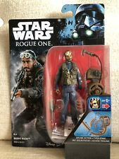 "Star Wars Rogue One Bodhi Rook Rock Hasbro Figure 3.75"" B9844 B7072 New in box"