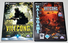 2 PC juegos bundle-Vietcong & Purple Haze, incl. Add on First Alpha