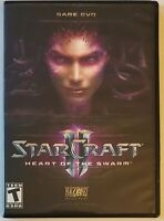StarCraft 2 II: Heart of the Swarm ( PC Windows & MAC DVD Game , 2012 ) With Key