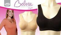 JML Belvia Bra Comfortable Seamless White Beige Black Pink Blue Purple S,M,L,XL