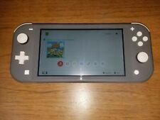 Nintendo Switch Lite Gray - Used w/ Animal Crossing
