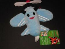 "Rankin Bass 1999 CVS Blue Airplane Plane Rudolph Island of Misfit 12"" Lg Plush"