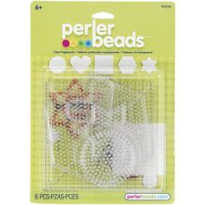 Perler Beads Clear Pegboards Hexagon Circle Square Star Heart 22750
