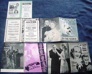 5 MOVIE HERALDS & PROGRAMS/1940's-50's/Lombard/S.Winters/Durbin/P.O'Brien/Cooper