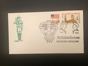 ICOLLECTZONE US Chicago Area Council 1985 Scout Show Cover (D100)