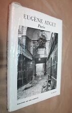 NEW IN SHRINK WRAP HC Eugene Atget Paris (Masters of the Camera) wilfred wiegand