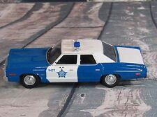 Corgi  1974 Dodge Monaco - Chicago Police Dept - Blue and White