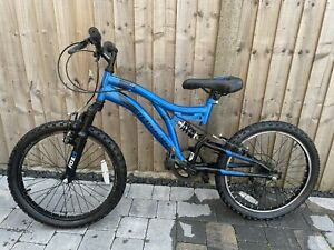 "Muddy Fox Radar 20"" Mountain Bike - Blue Kids Child Bike"