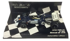 Minichamps Lotus Ford 72 #14 Mexican GP 1970 - Graham Hill 1/43 Scale