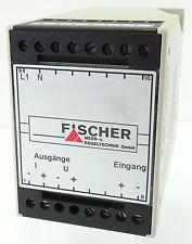 FISCHER Modumess-System EU50 Signalwandler Signal Converter 230V~ EU5010400401