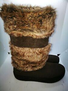 Crocs brown boots size 6