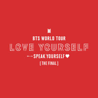 BTS WORLD TOUR LOVE YOURSELF SPEAK YOURSELF THE FINAL MD + Tracking Number