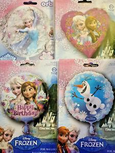 Frozen Foil Balloons