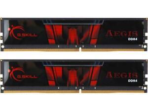NEW G.SKILL Aegis 32GB 2x16GB DDR4 2666Mhz CL19 RAM Memory kit F4-2666C19D-32GIS
