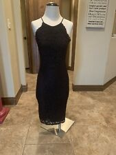 Yumi Kim Black Lace Dress High Neck Small NWT $215 (17)