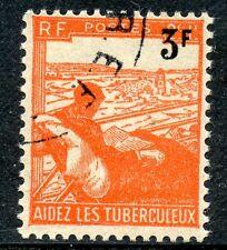 STAMP / TIMBRE FRANCE OBLITERE N° 750  SURCHARGE AU RPOFIT DES TUBERCULEUX