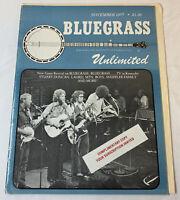 November 1977 BLUEGRASS UNLIMITED ~ Stuart Duncan, Laurel Mountain Boys, more