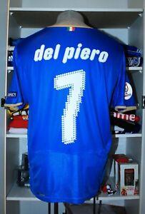 VTG PUMA ITALY ITALIA EURO 2008 DEL PIERO SOCCER JERSEY FOOTBALL SHIRT MAGLIA 7