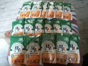 James Wellbeloved Senior Wet Dog Food Pouch Turkey & Rice 17 x 150g