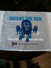 Detroit Lions vs. Packers - Defend The Den Rally Towel - 12/29/19