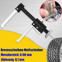 Bremsscheiben Meßschieber Schieblehre Profilstärke Messgerät Messwerkzeug 0-60mm