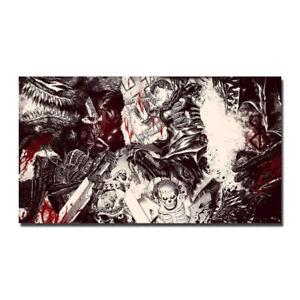 Berserk -Kentaro Miura Anime Silk Canvas Poster 13x24 24x43 inch