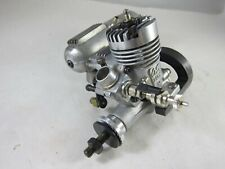 Vintage OS Max 10 FP R/C Glow Model Airplane Engine with Muffler and Motor Mount