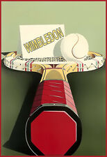 Sports Wimbledon Racchetta da Tennis Ball POSTER stampati