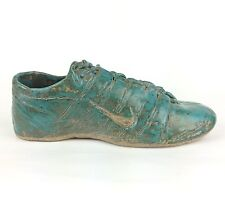 Handcrafted Stoneware Decorative Athletic Running Sneaker Shoe 9 Inches
